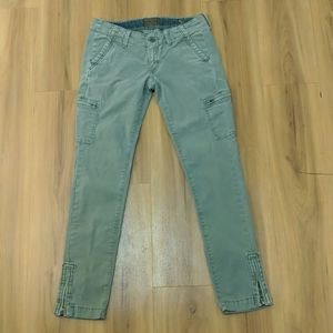 Lucky Brand army colored pants size 27